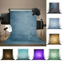 Retro Plain Color Wall Wood Floor Studio Backdrops Photo Photography Background