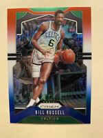 2019-20 Panini Prizm Bill Russell Red White Blue Prizm SP #21 - * MINT! RARE!! *