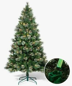 Philips 7ft Pre-Lit Full Virginia Pine Tree LED Fire Fly Lights and Auto Connect