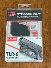 Streamlight 69290 Glock 17/19/35 Tlr-6 Rail Mount 100 Lumen Led Weapon Light