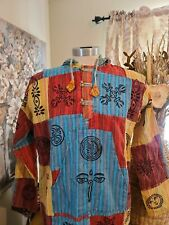 Patchwork top Hoodie patchwork pullover Bohemian Nepal