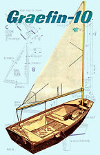 BUILD THIS 10 FOOT SAILING PRAM GRAEFIN 10  IN A WEEKEND  PLANS & Build Notes