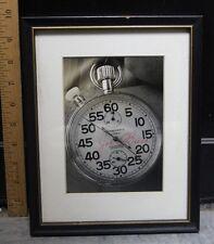 "Stop Watch Joe O'Brien Matted & Framed Photo Print 5 X 7"" Sulky (d)"