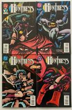 Huntress #1 to #4 complete series (DC 1994) VF+ condition issues.