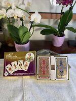Vintage PIATNIK No 2119 Rare PLAYING CARDS One Deck Is SEALED New Vienna Austria