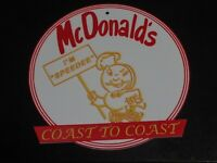 "Vintage McDonalds Sign Advertisement Replica 3D Printed 10.5""  Restaurant Cafe"