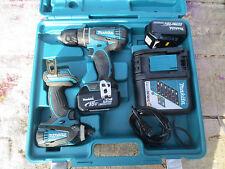 Makita Combo Kit XT211m 18V LXT Cordless 2 Piece 4.0 Ah drill impact