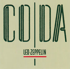 Led Zeppelin Coda CD 1982 Jimmy Page Robert Plant Ozone Baby Made In Australia