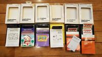(Lot of 5) Vintage Texas Instruments Home Computer Solid State Cartridge
