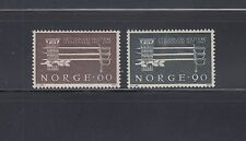 Norway 1967 Military Training  Sc 502-503  Mint never hinged