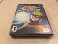 Naruto: Uzumaki Chronicles (Sony PlayStation 2, 2006) BLACK LABEL PS2 NEW