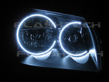 Flashtech Bright White LED Halo Ring Headlight Kit for Dodge Magnum 05-07
