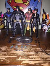 DC Collectibles Batman Arkham Knight Batman Robin Catwoman Nightwinh