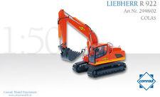 Liebherr R922 Litronic crawler excavator - Conrad  #2948/02  1/50 MIB.