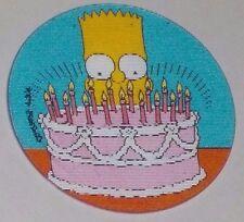 1996 The Simpsons Magic Motion Tazo #178 Bart Simpson - Birthday cake