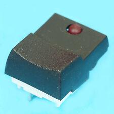 4x TOUCHE DIGITALE BOUTON POUSSOIR 1 CONTACT AVEC INDICATEUR LED ROUGE lot de 4