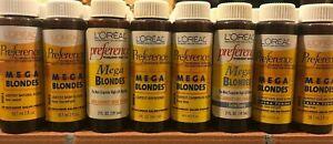 LOréal Preference Permanent Haircolor Liquid MEGA BLONDES 2oz RARE YOU CHOOSE !