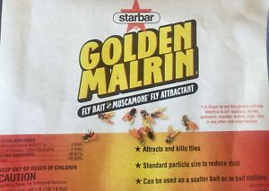 Starbar Golden Malrin Fly Bait 1/2 Lb re-packaged FREE SHIPPING