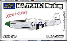 LF Models 1/48 NORTH AMERICAN TP-51B MUSTANG Conversion Kit