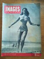 IMAGES DU MONDE N°27 - 1945 Biarritz - Marie claire