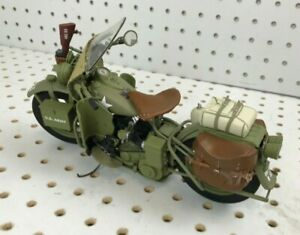 Franklin Mint 1942 Harley Davidson Military Motorcycle 1/10 Scale Model B11YE38