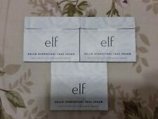 E.L.F. Hello Hydration! Face Cream Sample 3 packs NEW ELF Moisturizer