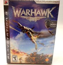Warhawk PS3 Video Game Bluetooth Headset Included New Sealed