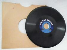 TAKE ME OUT TO BALL GAME RARE VINTAGE UNITED PHONOGRAPH GRAMOPHONE 78 RPM RECORD