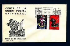 SPAIN - SPAGNA - 1974 - Centenario dell'U.P.U. - Michel 2106/2107