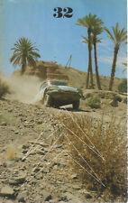 LE DOUBLE CHEVRON 32 1973 RALLYE DU MAROC RALLYE ACROPOLE POP CROSS CITROEN B2