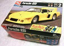 NEW RARE - ERTL AMT 1998 PORSCHE 935 MODEL CAR KIT 1/25 PLUS PACK 30072-100