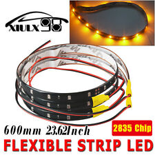 "24""/60CM 2pcs Car Motor Truck Baot DIY Flexible LED Strip Light Waterproof 12V"