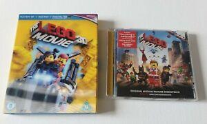 Blu-Ray + 3D • The Lego Movie (3D Blu-ray & Soundtrack CD) Lenticular Sleeve
