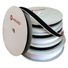 """10 M x 2"""" Bianco Sew Su Velcro Gancio e Passante/Tende/SEDIE soffas panche ecc."""