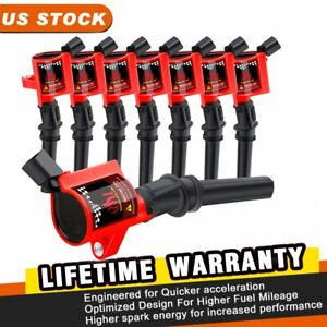 8 Ignition Coils for Ford Crown Victoria Lincoln Town Mercury Grand Marquis 4.6L