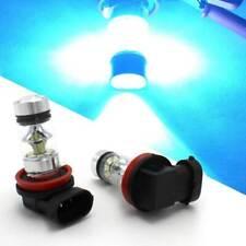 2Pcs H8 H9 H11 8000K 100W Car LED Fog DRL Driving Light Bulb Ice Blue 20SMD 2835