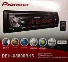 Pioneer DEH-X8800BHS CD RDS Receiver AUX/USB/BT/HD Radio/SiriusXM