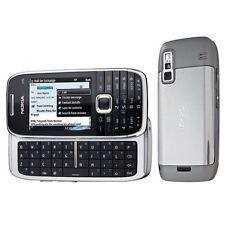 Nokia E75 Silver Black Unlocked Smartphone Grade B + Warranty