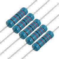 2W 22K Ohm 1% Axial Metal Film Resistor RJ 2 Watt x200pcs
