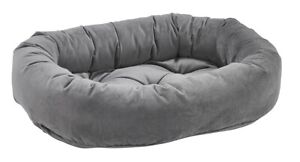 Bowsers Pet Luxury Cushioned Donut Dog Bed Microvelvet Fabric