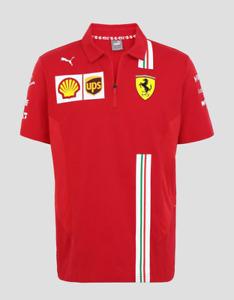 2021 Ferrari F1 Mens Team Polo