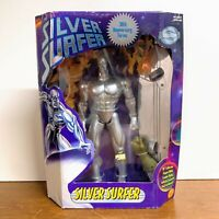 Vintage Silver Surfer 30th Anniversary Collector Ed 1997 Toy Biz Figure 10""