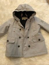 Burberry Gray coat Toddler 2 years