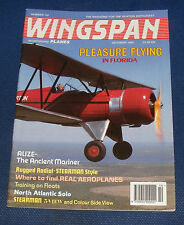 WINGSPAN MAGAZINE OCTOBER 1994 - PLEASURE FLYING IN FLORIDA
