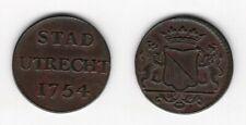 NL - UTRECHT   Duit 1754