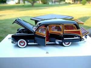 Danbury Mint 1/24th Scale L.E. 1949 Olds 88 Wagon-Papers & Box-VERY VERY NICE-