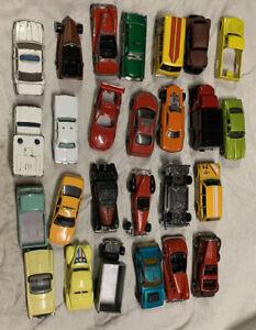 Bulk lot of 25 Matchbox Hotwheels Spare Parts Wreck Or Restore Code 4 Customs