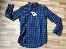 DSQUARED D2 MEN'S CHECKED PATTERN SHIRT 52 BNWT 100% AUTHENTIC!
