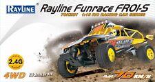 RC Auto Funrace 01S-E 4WD Allrad Bravo Pro Car Buggy ferngesteuert 70km/h Gelb