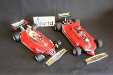Exoto Ferrari Gift set 1:18 Ferrari 312T #12 Lauda Ferrari 312T4 #12 Villeneuve